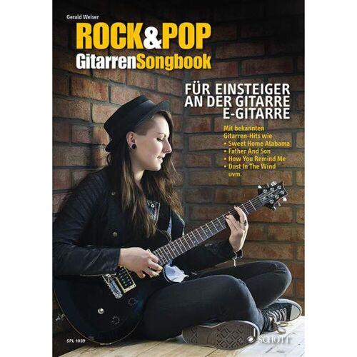 Schott Music - Rock & Pop Gitarren-Songbook