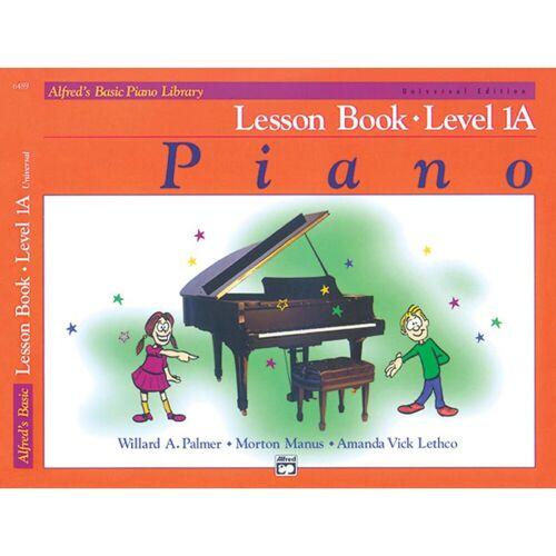 Alfred Music - Basic Piano Lesson Book 1A Piano Solo