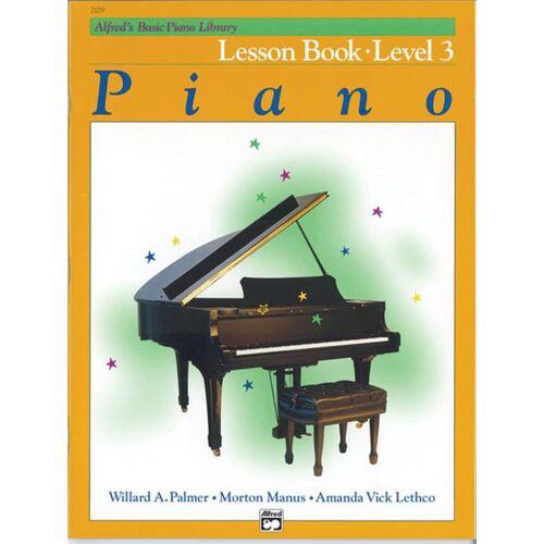 Alfred Music - Basic Piano Lesson Book 3 Piano Solo