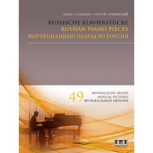 AMA Verlag - Russische Klavierstücke Sergei Slonimsky, Klavier