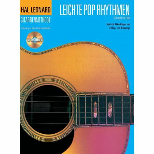 Bosworth Music - Hal Leonard Gitarrenmethode Leichte Pop Rhythmen