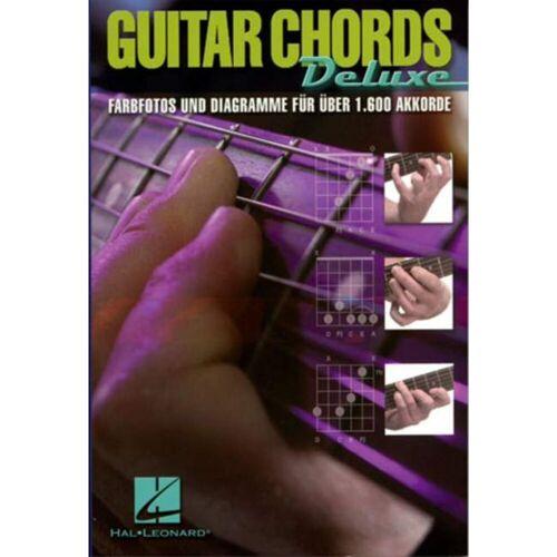 Hal Leonard - Guitar Chords Deluxe Gitarre