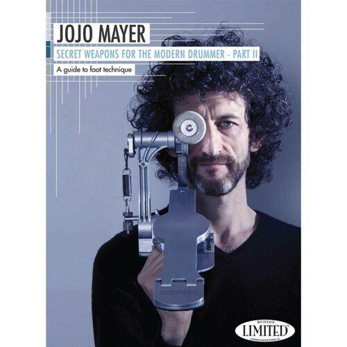 Hudson Music - Jojo Mayer: Secret Weapons II Foot Technique DVD, ENGLISH