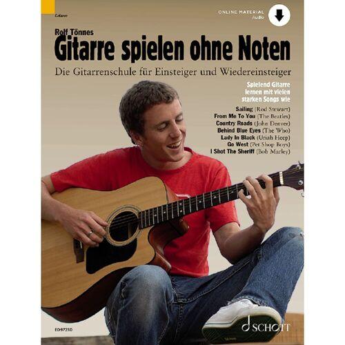 Schott Music - Gitarre spielen ohne Noten