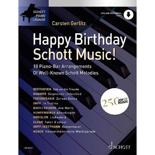 Schott Music - Happy Birthday, Schott Music!