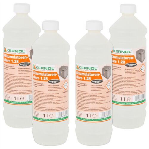 VOSS.farming 4L Batteriesäure (für 12V/65Ah + 85Ah Nr. 34460+ 34461+ 34437)