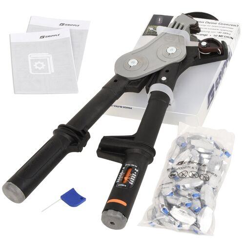 Gripple-SPARSET: 1x Spannzange + 50x Drahtverbinder