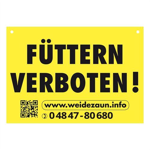 VOSS.farming 5x Warnschilder