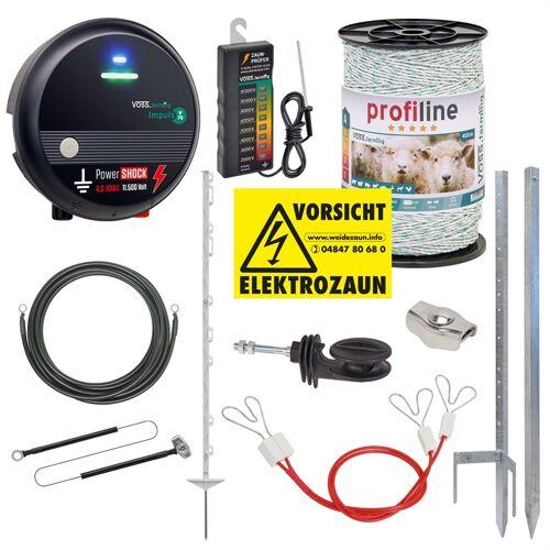 VOSS.farming Ziegenzaun, Elektrozaun für Ziegen (230 Volt)