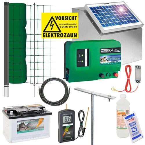 VOSS.PET Fischotter-Komplettset 12V Solar