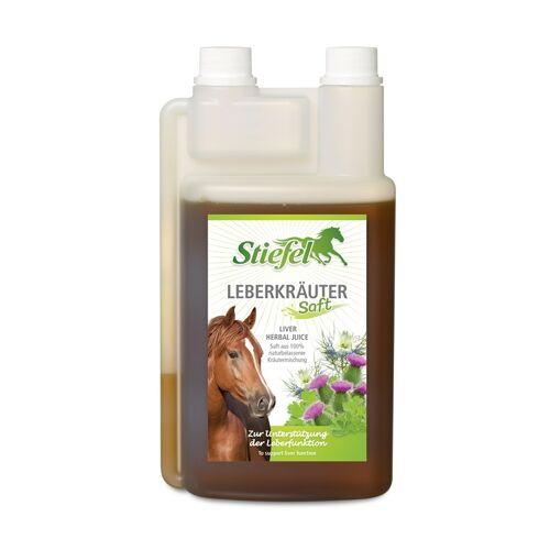 Stiefel Leberkräutersaft für Pferde - zur Unterstützung der Leberfunktion, 1L