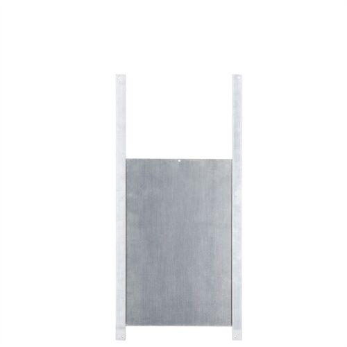 Hühnerklappe Tür-Set - Hühner-Schiebetür für automatische Hühnerklappe, Alu 220 x 330mm