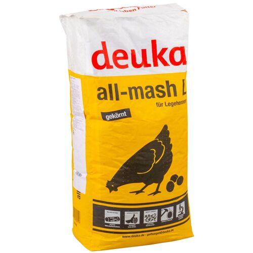 Deuka all-mash L Mehl gekörnt, Legehennenfutter 25kg