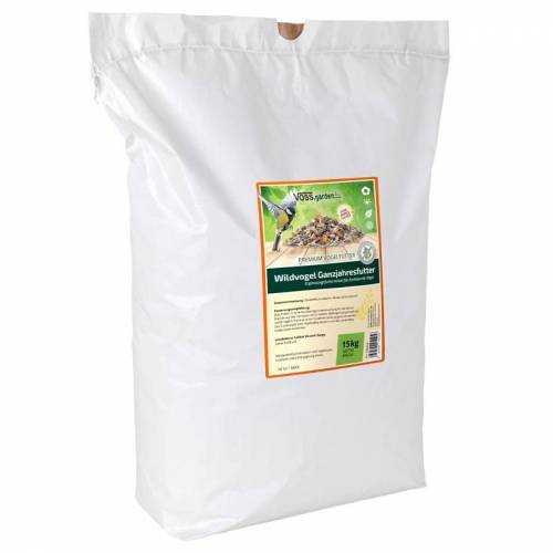 VOSS.garden Wildvogel Ganzjahresfutter 15kg