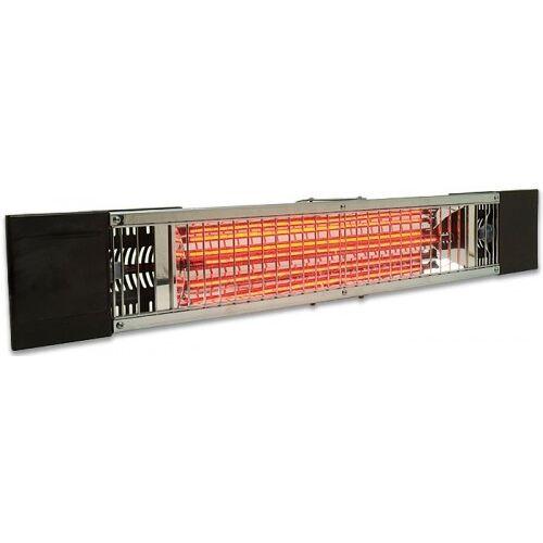Petalo 1200 Watt Halogen Infrarot Heizstrahler inklusive Wandhalterung IP55