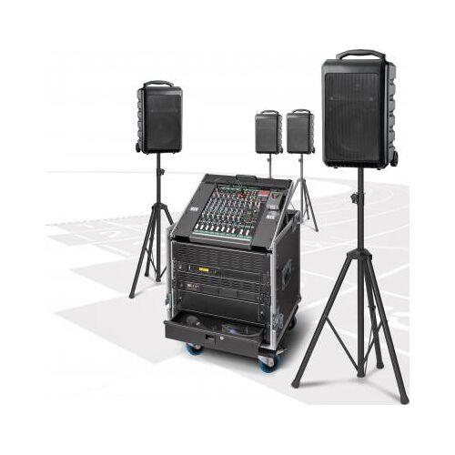 RCS Audio Beschallungsanlage / PA-Anlage PCS-1200W kabellos mit vier Akku-Funklautsprecher