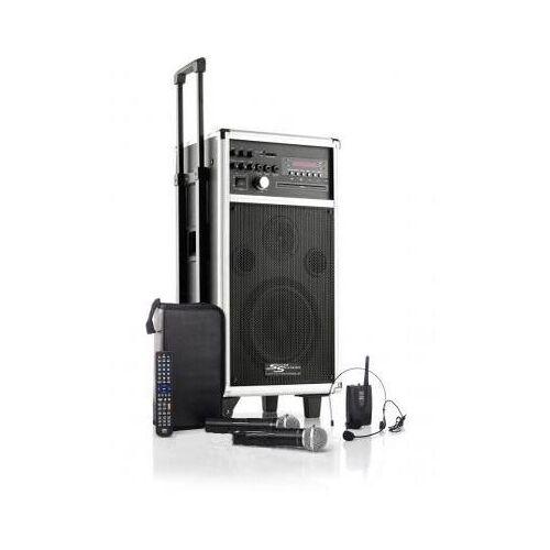 Mobile Verstärkeranlage MSS-350 mit Aufnahmefunktion / Akku / Funkmikrofon / Funkheadset / CD / MP3 / DVD / USB
