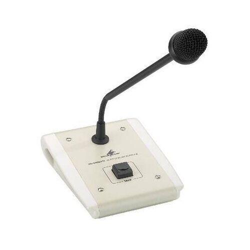 Monacor PA-4000PTT 100 Volt ELA-PTT-Tischmikrofon / Sprechanlage