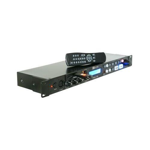 Power Dynamics MP3-Player PDC-70 mit USB/SD-Anschluss mit Pitch und Mikrofoneingang