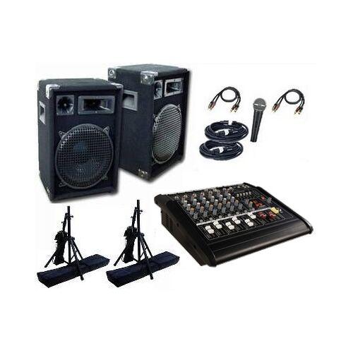 SOUND-SYSTEMS Musikanlage / PA-Anlage 1200 mit Powermixer