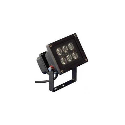 PTL - LED Outdoor Spot 6 x 1W rot LED Outdoor Spot