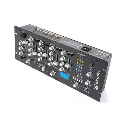 Skytec STM-3005REC 5-Kanal Mischpult / DJ-Mixer mit Aufnahmefunktion