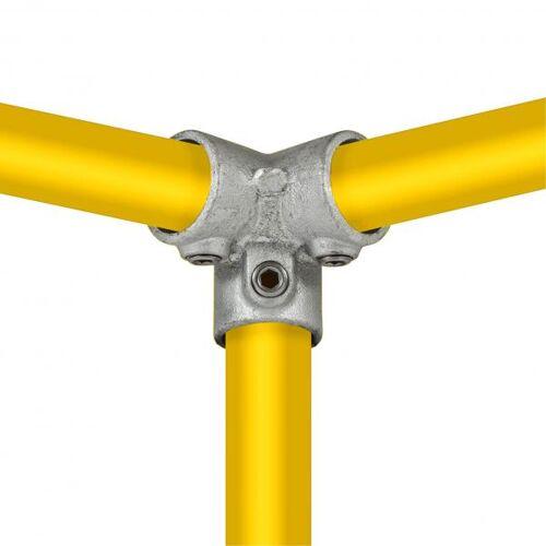 Typ_18 Dreiweg-Endstück 90° Ø 48,3 mm