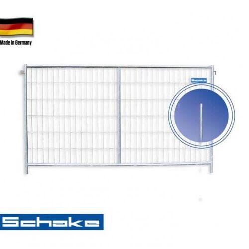 """Schake Mobilzaun / Bauzaun """"Profi M"""" (mit Haken und Ösen), 3,5 x 2 m"""