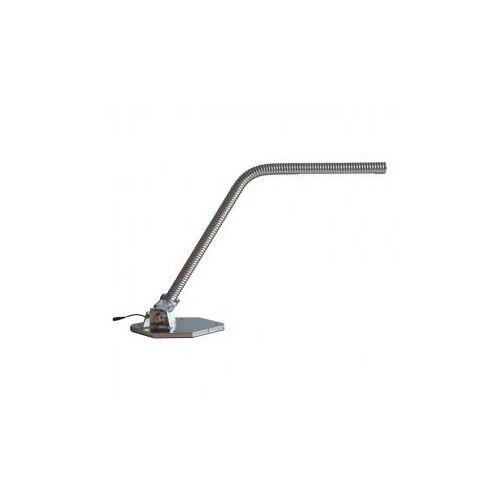 LED-Schreibtischlampe 12 W aus originalem Gewindefuß vernickelt