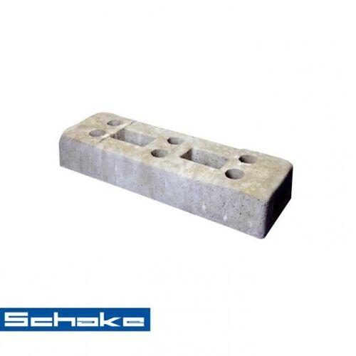 Schake Bauzaunfuß aus Beton