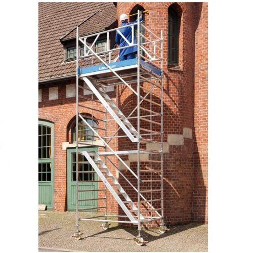 C.O.Weise GmbH&Co.KG Rollgerüst mit Treppenaufgang, AH 10,50 m 10,5 m