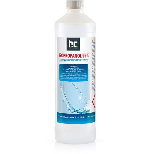 HöFER CHEMIE 6 x 1 Liter Isopropanol 99,9% in 1 L Flaschen