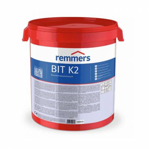 REMMERS BIT K2   K2 Dickbeschichtung - Bitumendickbeschichtung 2K - 10 ltr