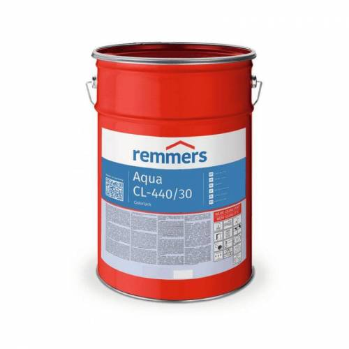 REMMERS Aqua CL-440/30-Colorlack, weiss - 5 ltr - Remmers