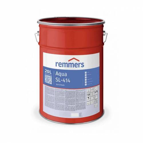Remmers Aqua SL-414-Schichtlack, 20 ltr - halbmatt