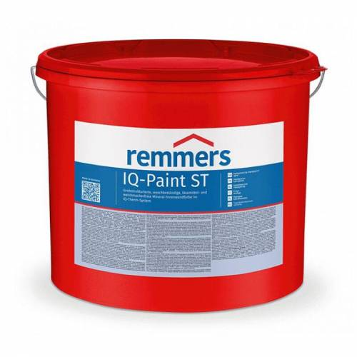 Remmers iQ-Paint ST - Wandfarbe, weiss - Innenwandfarbe, 12,5 ltr