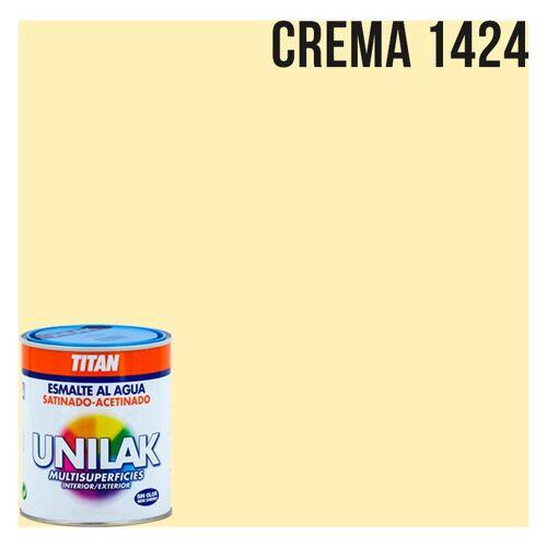 Titanlux - Unilak satin Emaille Wasser   375 ml - 1424 Creme