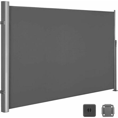 SONGMICS Seitenmarkise 180 x 350cm Markisenstoff aus Polyester 280g/m² 2