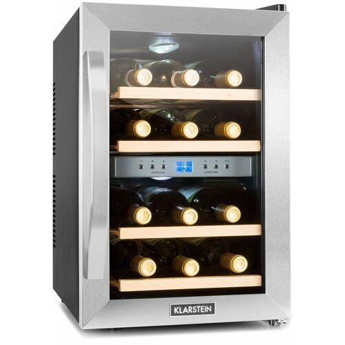 KLARSTEIN Reserva Weinkühlschrank 34 Liter 12 Flaschen 2 Zonen