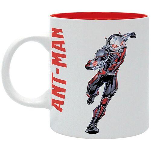 MARVEL Ant-Man Tasse Hey!!! I'm Here weiß/rot, bedruckt, aus Keramik, 320 ml.,