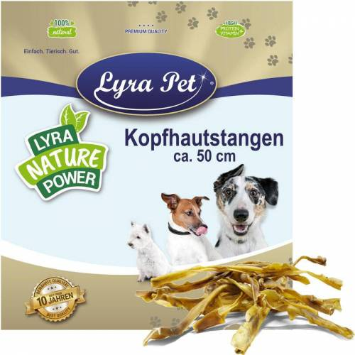 LYRA PET 10 Stk. ® Kopfhautstangen ca. 50 cm - Lyra Pet