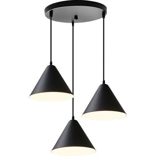 STOEX Ø24CM Vintage Industrie Pendelleuchte Metall Lampenschirm 3