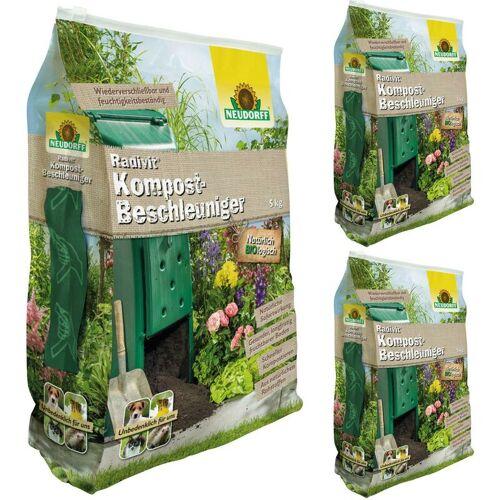NEUDORFF 3 x 5 kg Radivit® Kompost-Beschleuniger - Neudorff