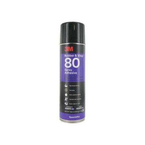 3M Hi-Strength 80 Gummi und Vinyl x5 Aerosolkleber mit hoher Festigkeit