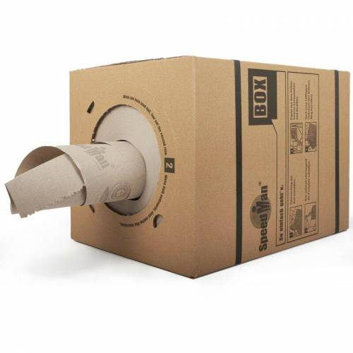 Kk Verpackungen - 4 x SpeedMan Box Endlos Packpapier Schrenzpapier