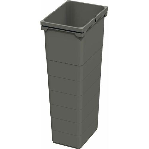 NINKA Abfallbehälter eins2vier/eins2fünf, 32 L, BxHxT: 230x560x306mm