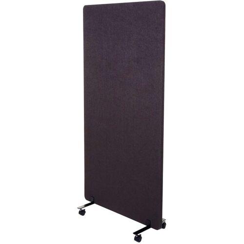 HHG Akustik-Trennwand 957, Büro-Sichtschutz Raumteiler Pinnwand,