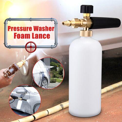 INSMA Drucklanzenschaumflasche 1L 2000PSI - 5000PSI für Aldi Workzone Ryobi
