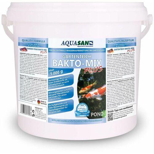 AQUASAN AQUARISTIK & GARTENTEICH Aquasan Aquaristik&gartenteich - AQUASAN Gartenteich BAKTO-MIX PLUS 5 kg