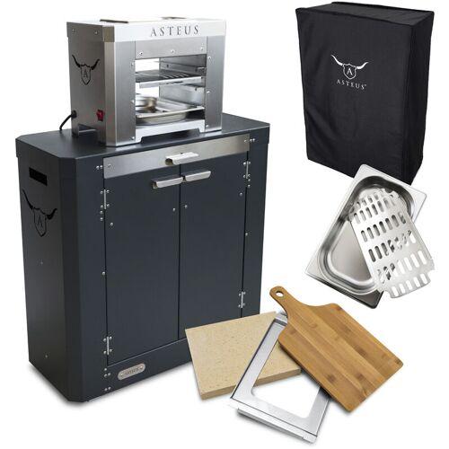 ASTEUS Steaker V2 Bundle Elektro Infrarot Grill bis 800° C Edelstahl